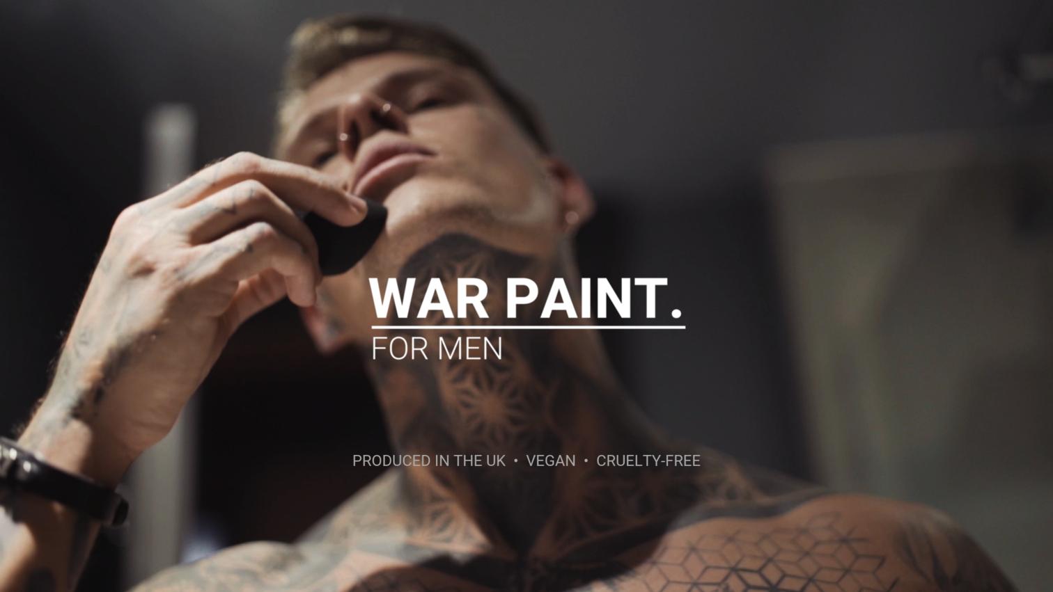 War Paint Makeup For Men Latest in Violent Branding ...
