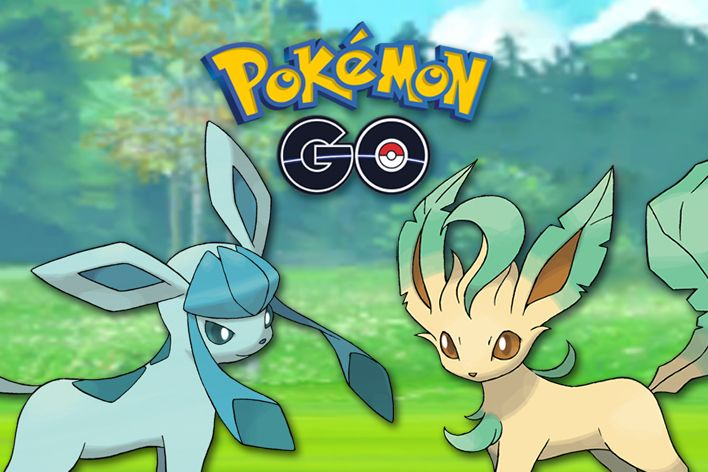 pokemon go leafeon glaceon data mine leak lure module