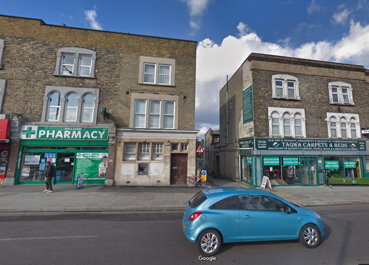 London mosque gunman