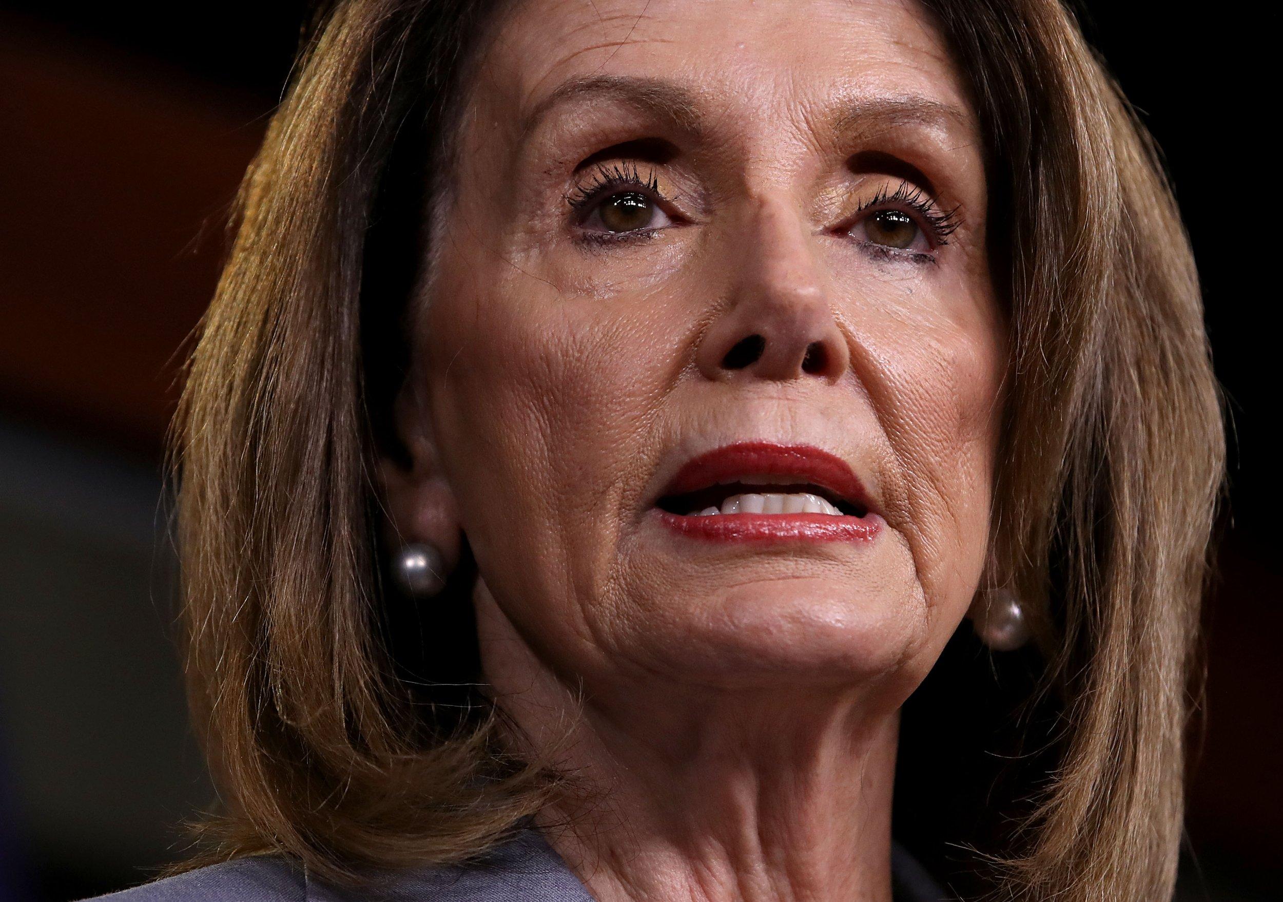 Nancy Pelosi, Self-impeachable
