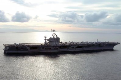 USS Abraham Lincoln Iran US threat fake intelligence
