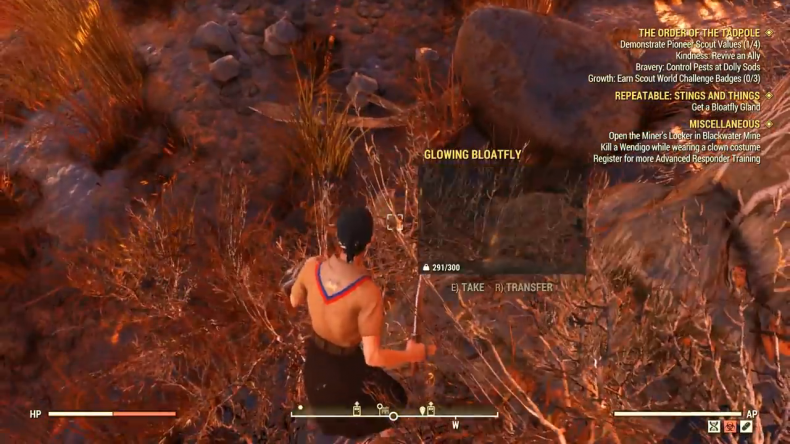 fallout 76 pioneer scout bloatfly