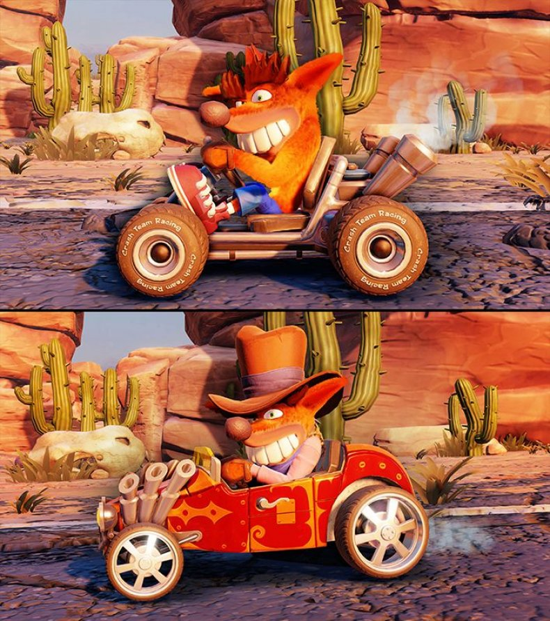 CTR Crash Team Racing Kart Customization 01
