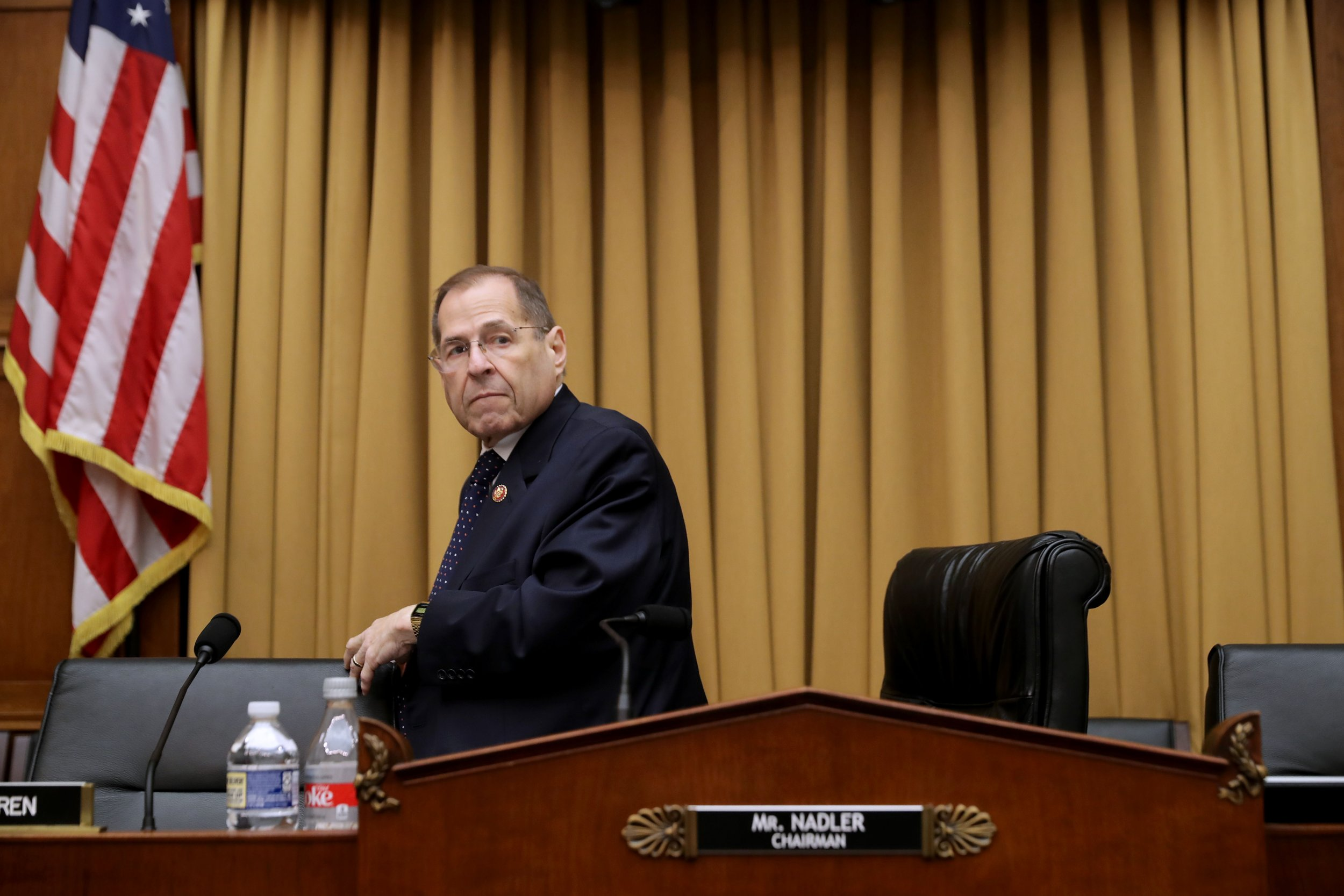 Jerry Nadler, Robert Mueller won't testify next week