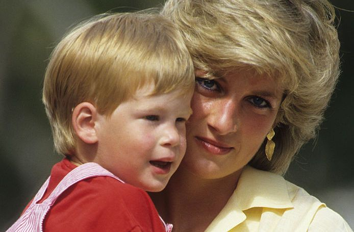 princess diana baby harry