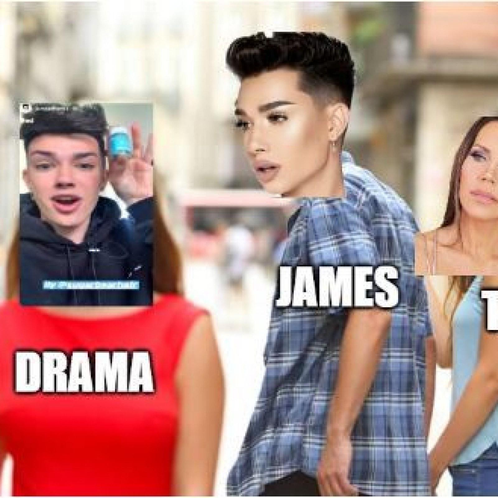 Outraged James Charles Fans Create Memes Destroy Youtuber S Make Up Palettes