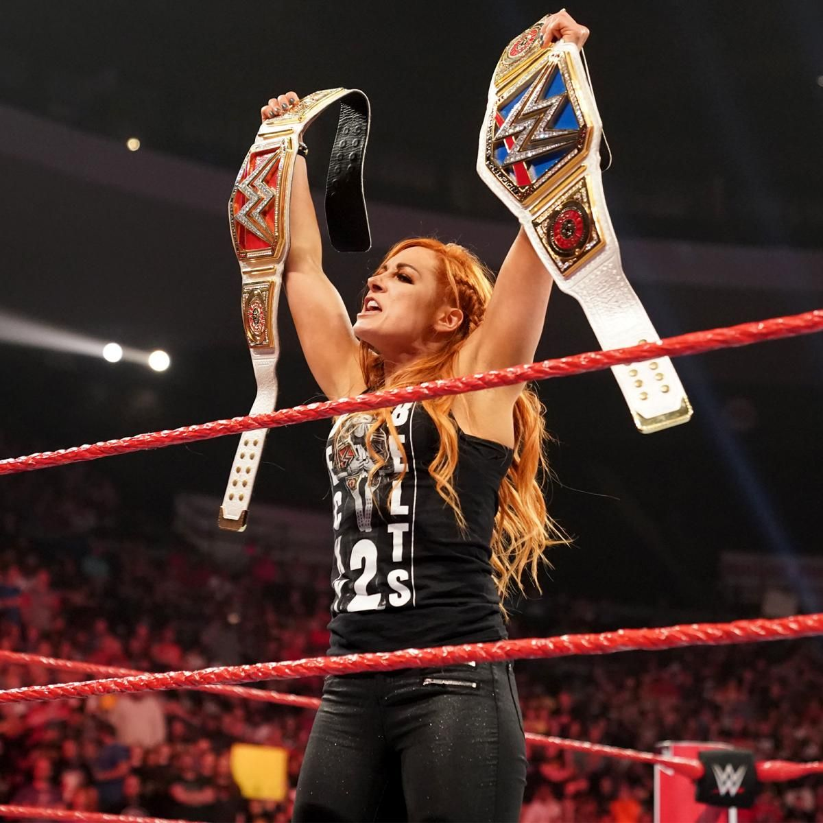 becky lynch titles monday night raw live results may 13 wwe london