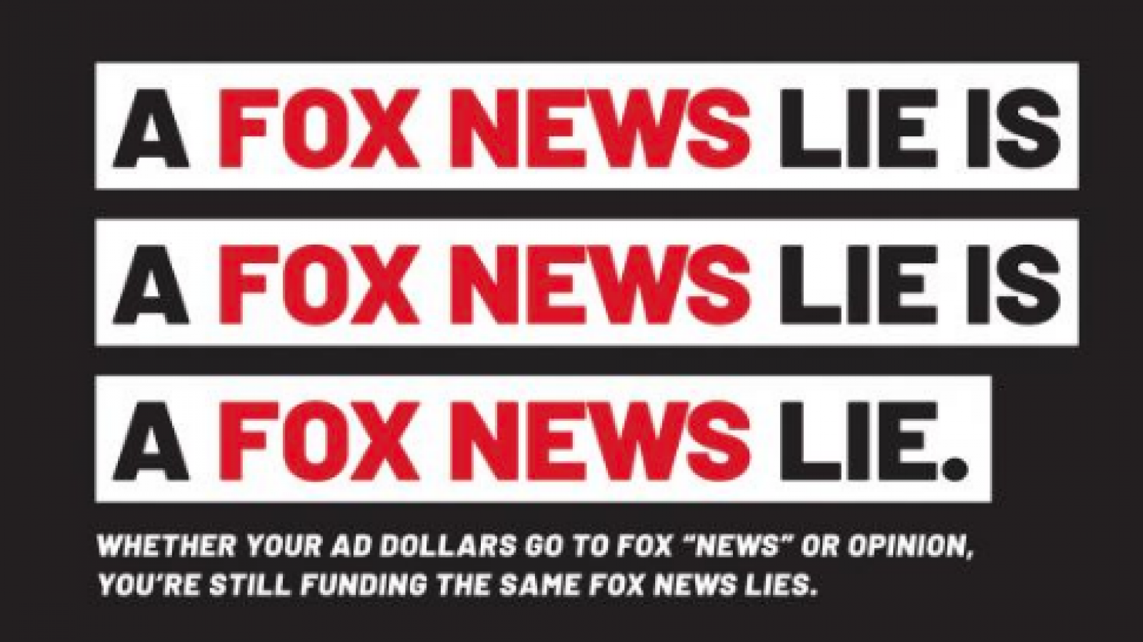 Hard Times For Foxs Version Of Fair And >> Liberal Group Targets Fox News Advertisers With Drop Fox Ad
