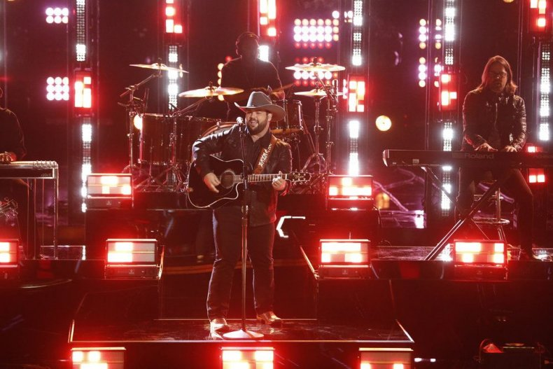 Voice, 2019, semi, final, results, recap, top, 8, predictions, live blog who, left, saved, tonight, eliminated, went, home, votes, itunes, Andrew Sevener long hair country boy