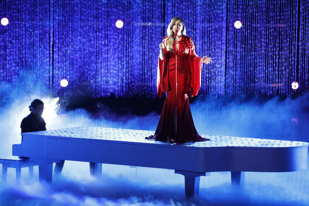 the voice top 8 performances predictions recap results who won saved eliminated tonight tomorrow night last night Maelyn Jarmon stay Rihanna