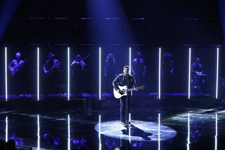 The voice 2019 top 8 semi final performances predictions live blog season 16 episode 21 who won went home recap results eliminated tonight last night iTunes Dexter Roberts here without you 3 doors down
