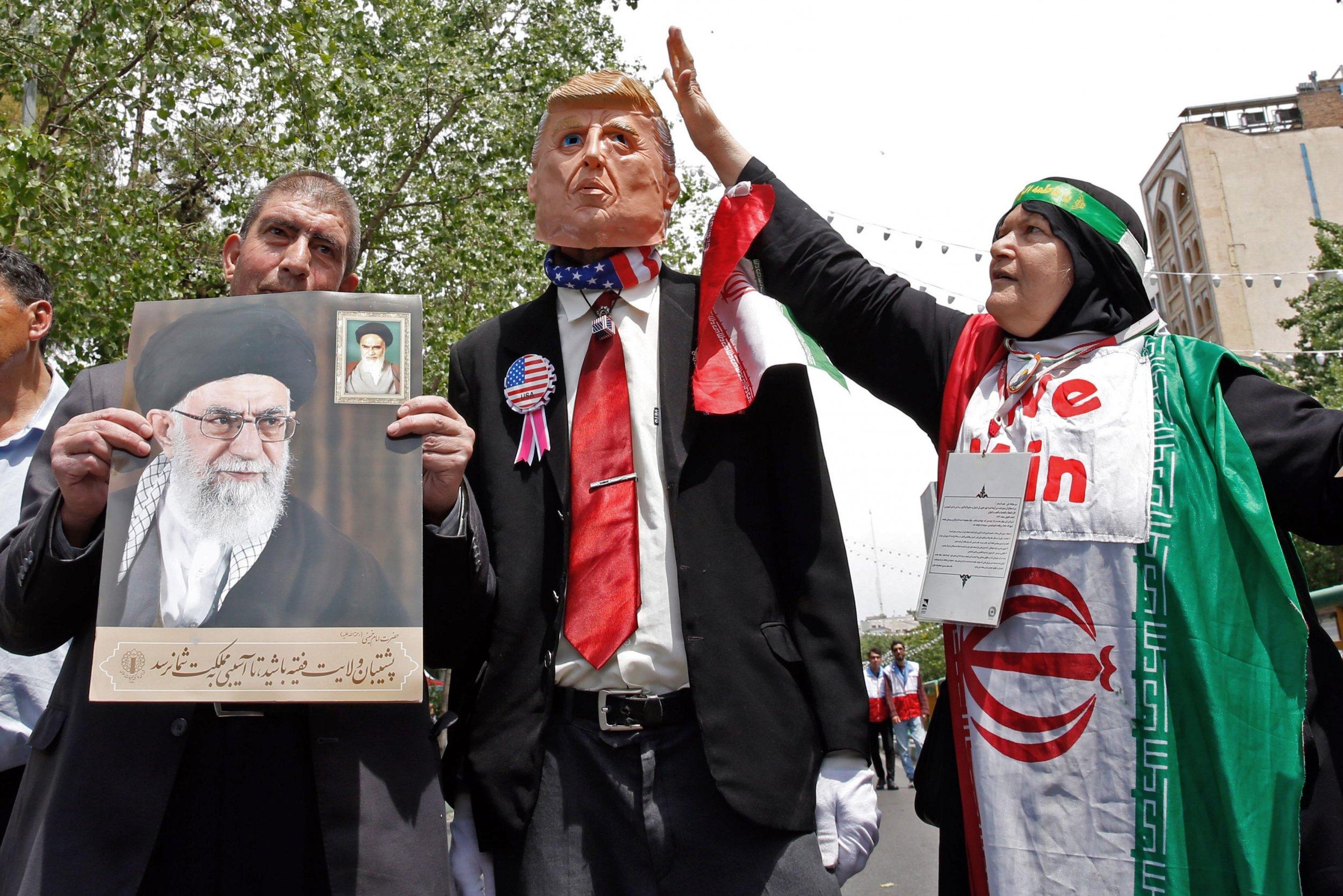 Donald Trump Iran US troops