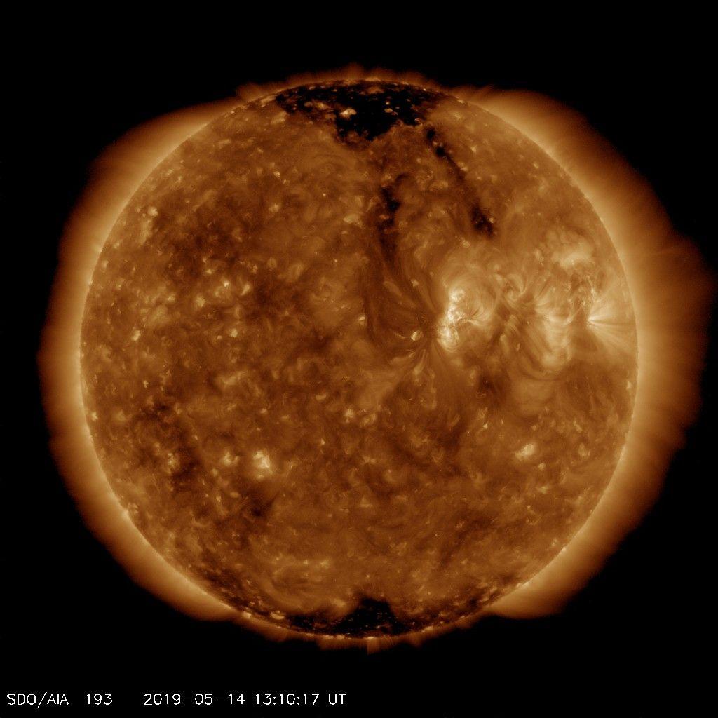 sun polar sunspots