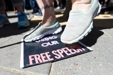 college poll free speech sensitive