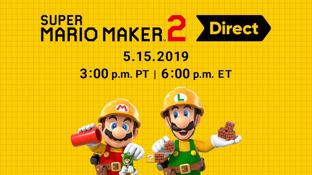 super mario maker 2 nintendo direct