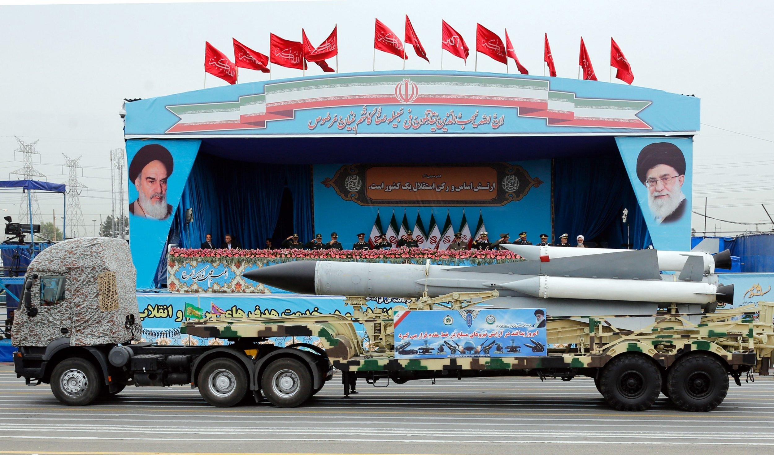 Iran missile war US