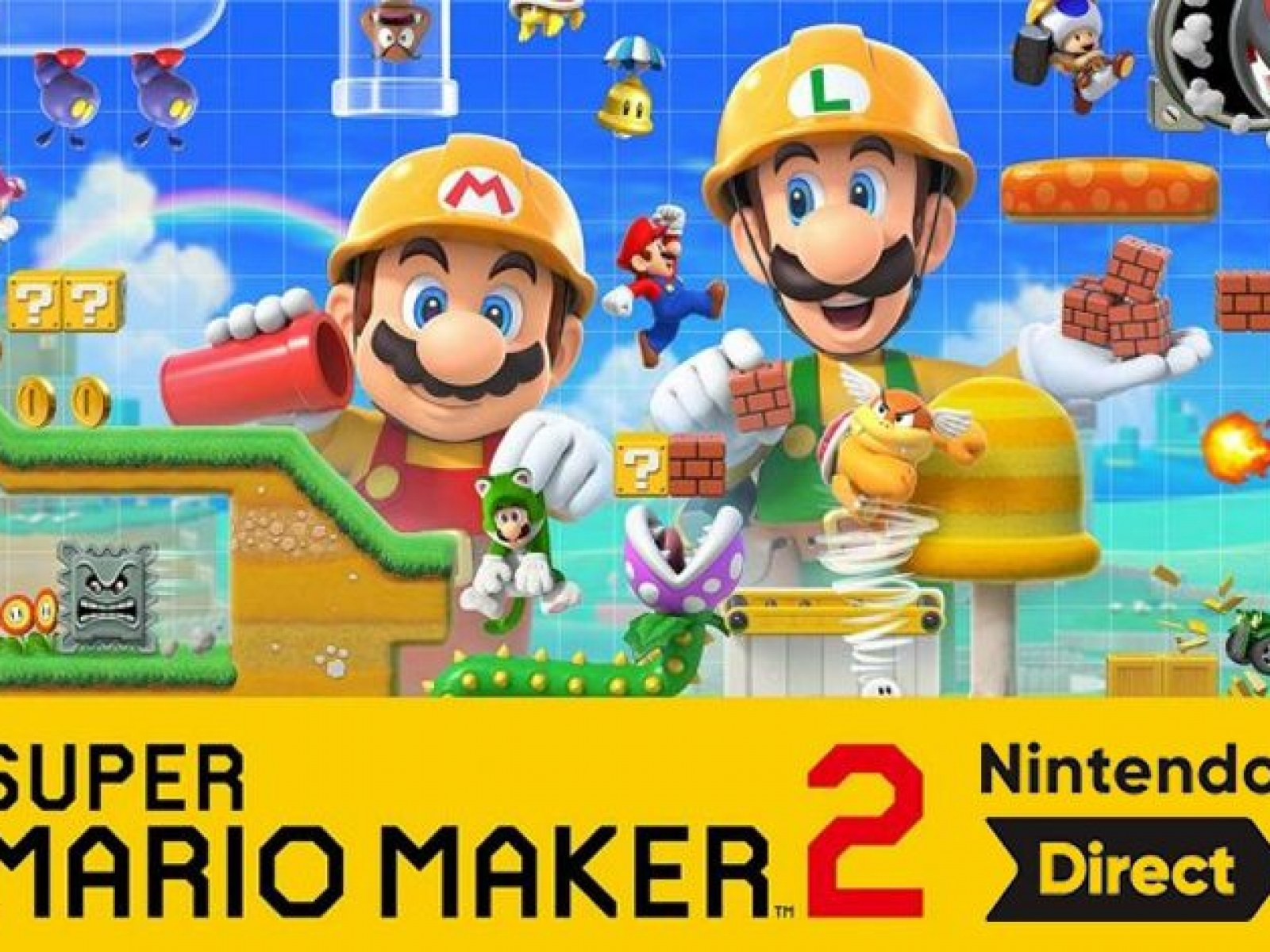Super Mario Maker 2 Nintendo Direct Start Time And How To Watch