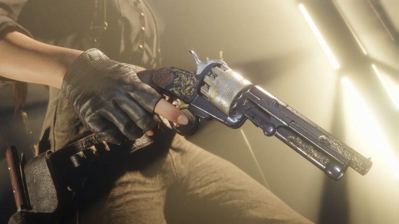 Red Dead Online 109 lemat revolver