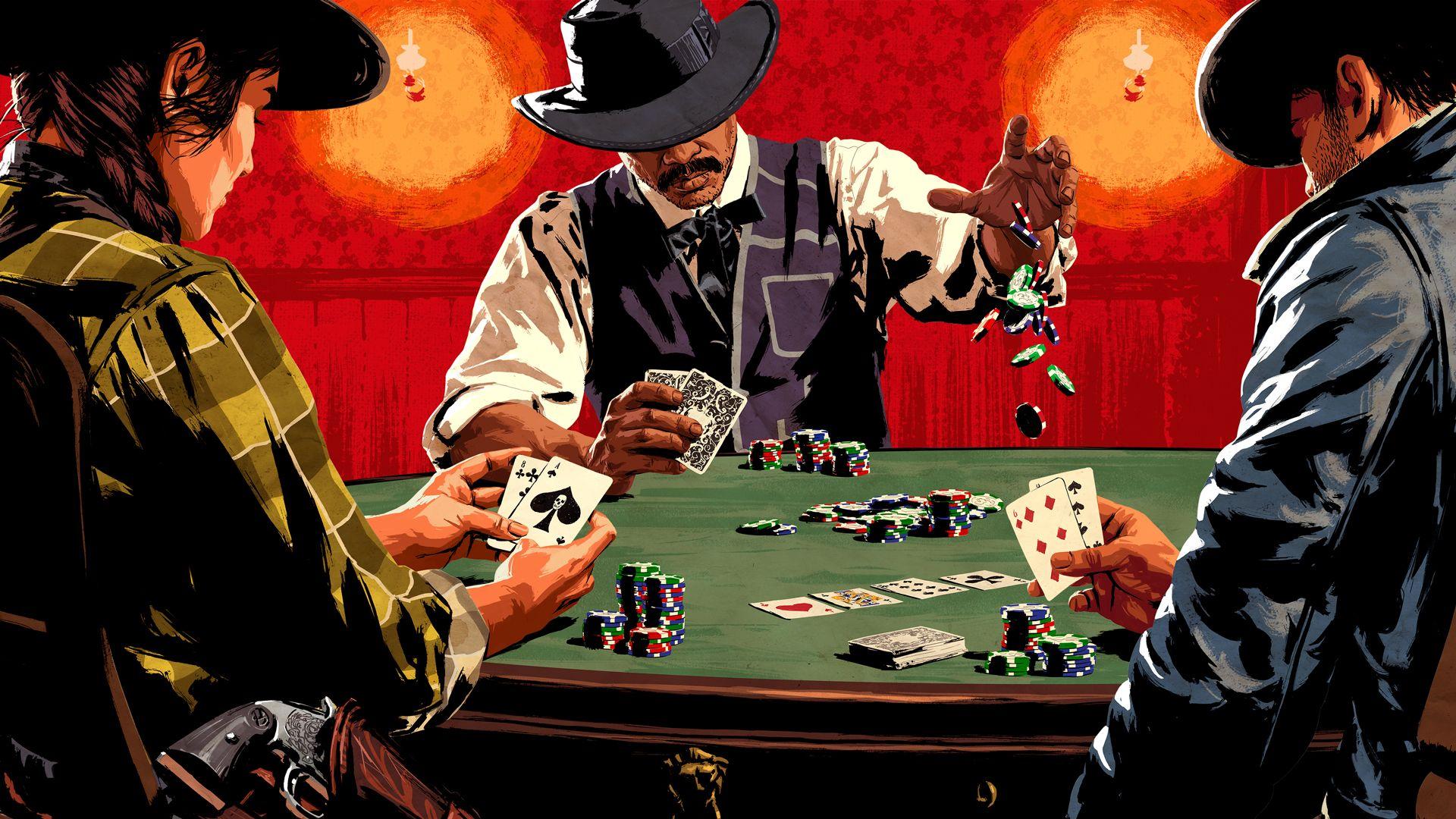 Red Dead Online 109 poker
