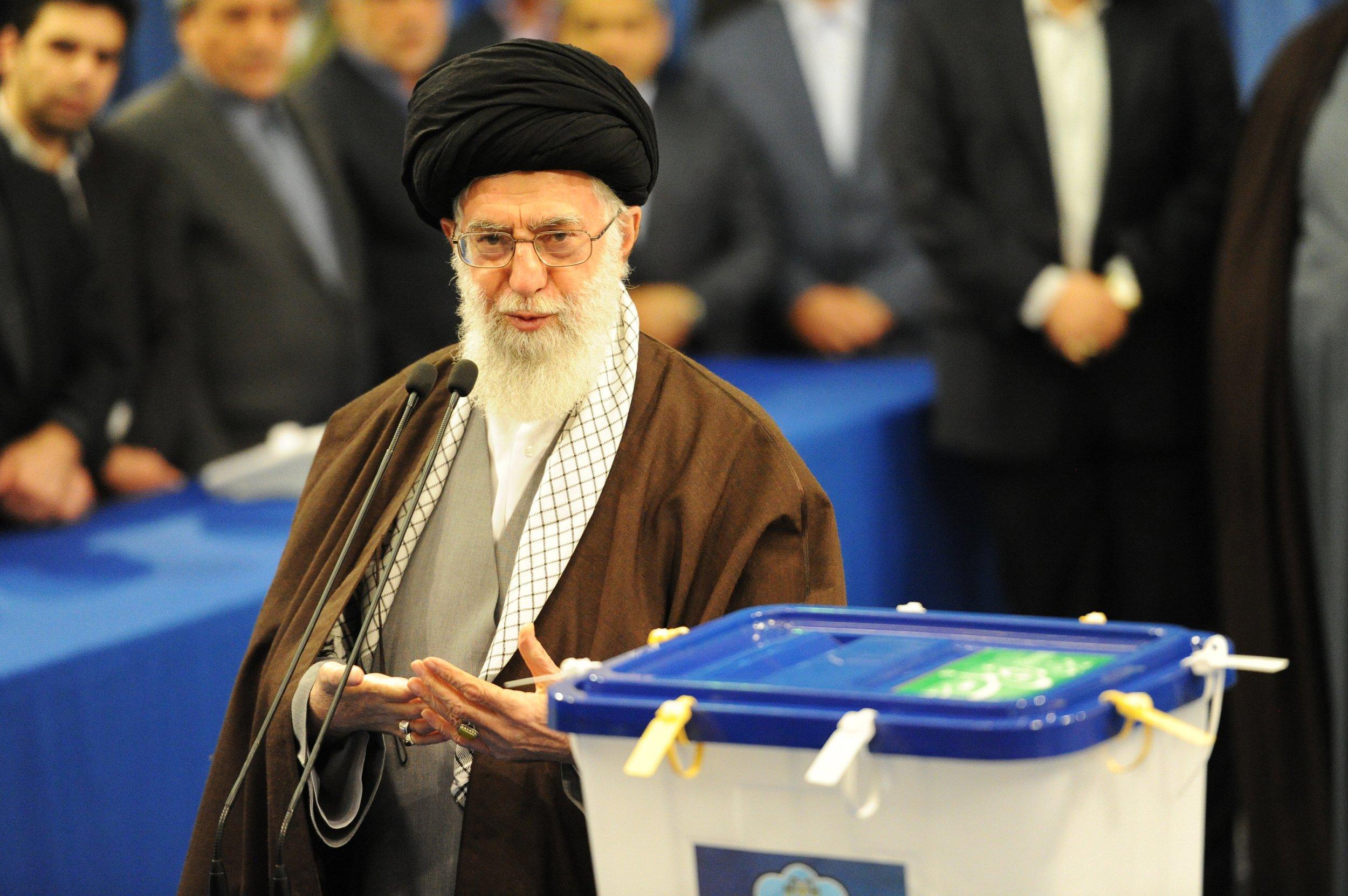 Ayatollah Ali Khamenei Iran US war conflict