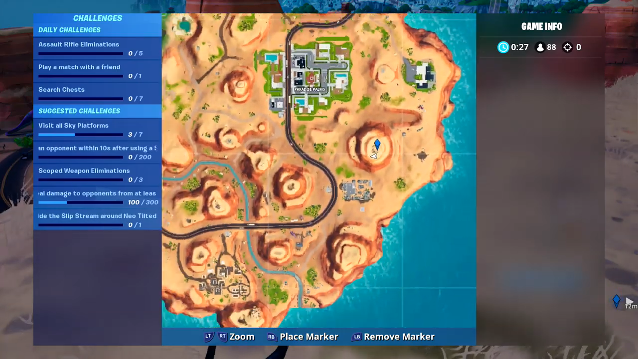 fortnite fortbyte 81 location map