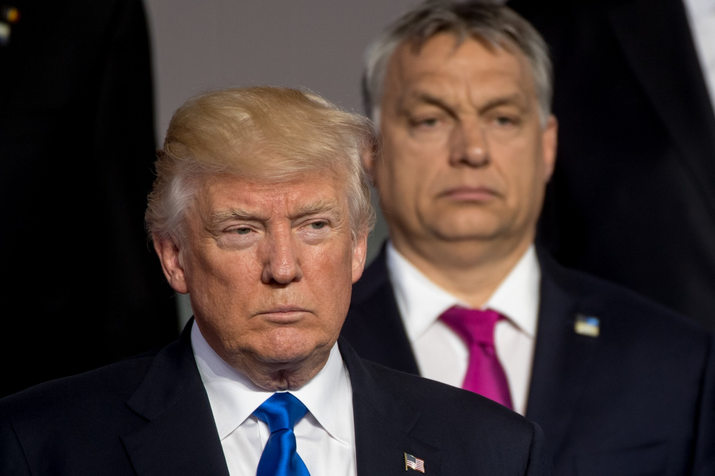 donald, trump, hungary, authoritarian, orban, twins