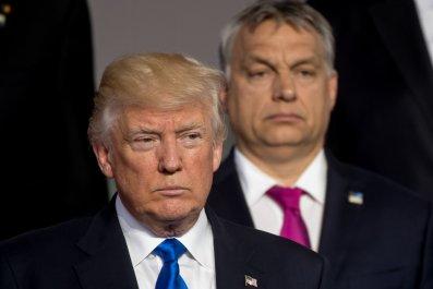 donald, trump, hungary, authoritarian, orban, twins