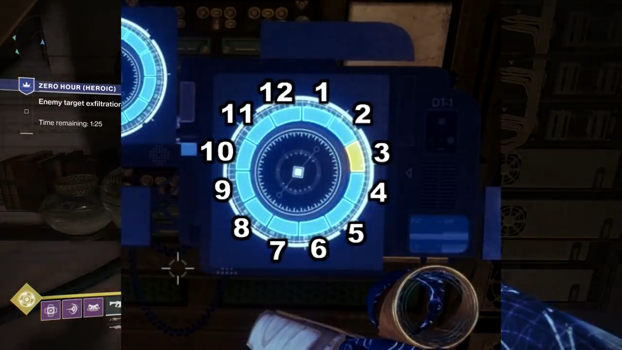 destiny 2 arc confuguration circle layout