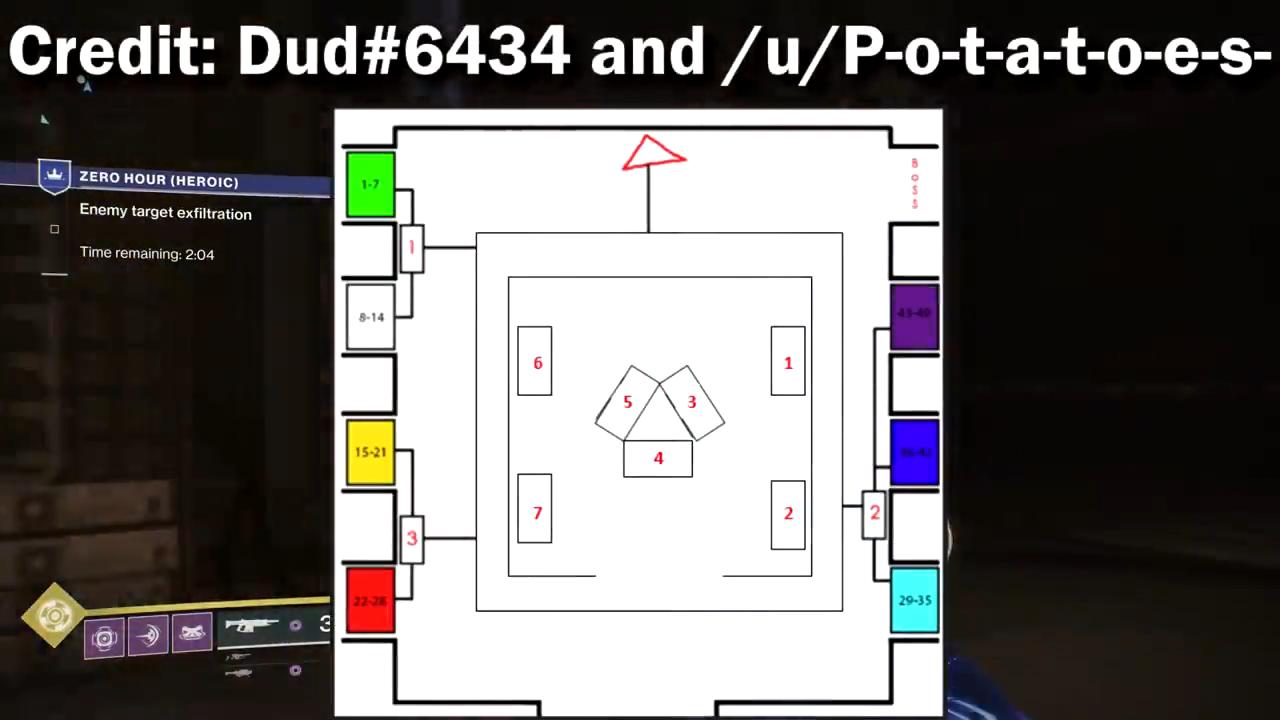 destiny 2 arc confuguration vault layout