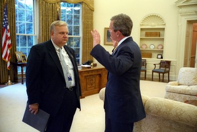 bush, adviser, china, donald, trump