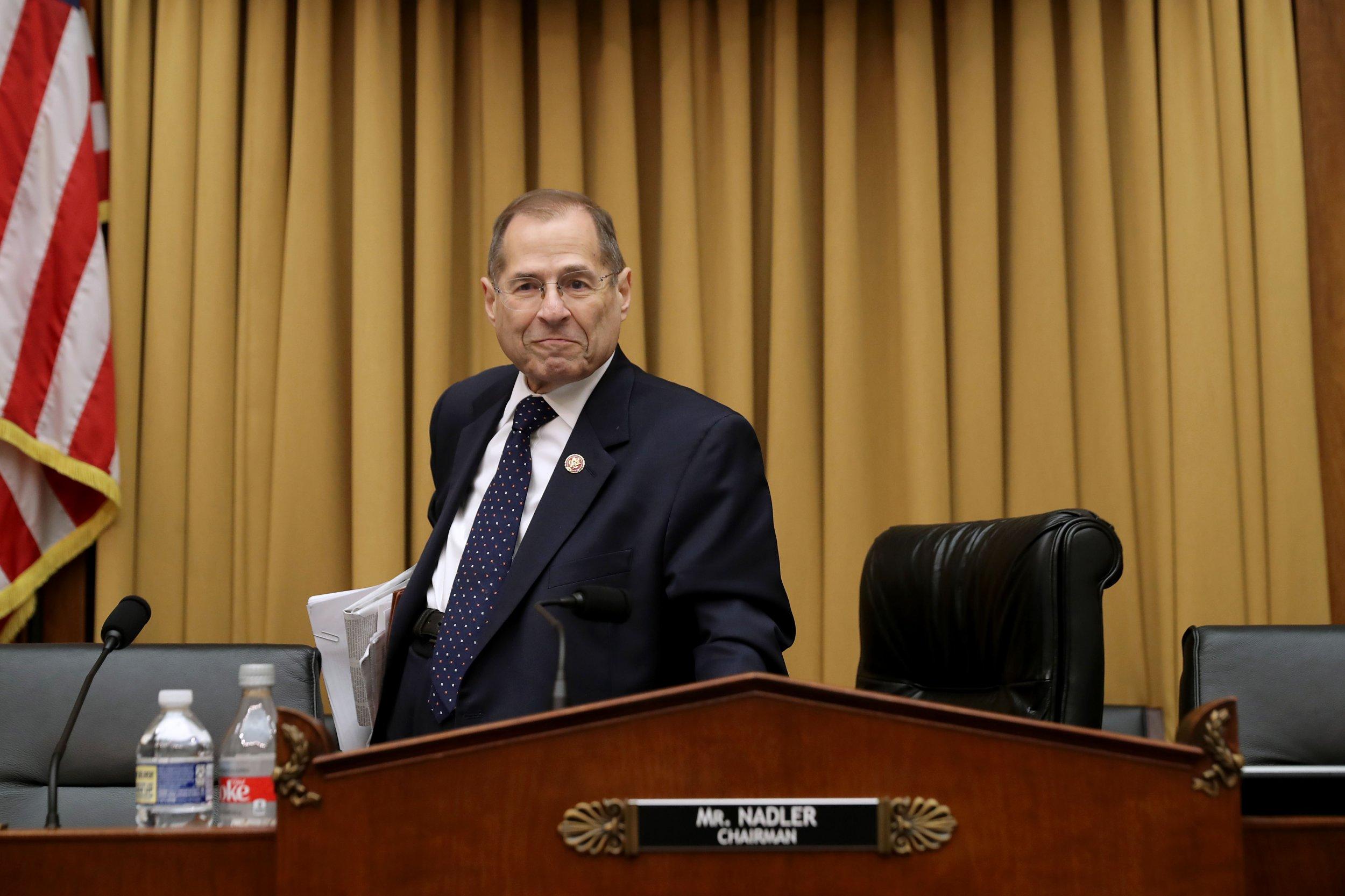 Top Democrat Jerry Nadler Threatens Large Contempt Fines