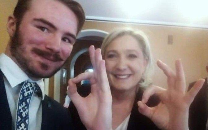 Marine Le Pen Ruuben Kaalep