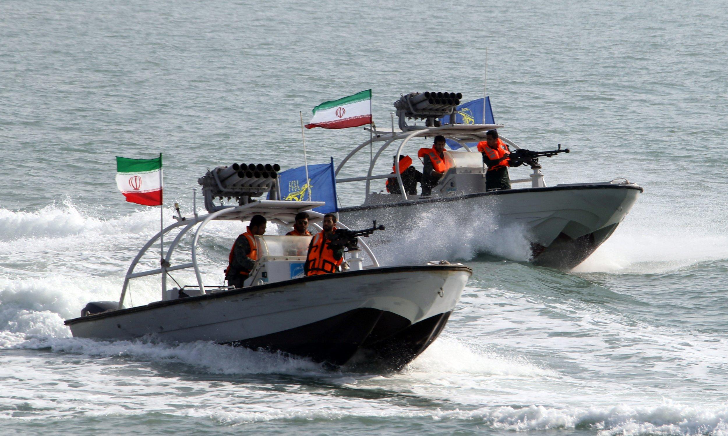 Iran boats missiles overreaction donald trump