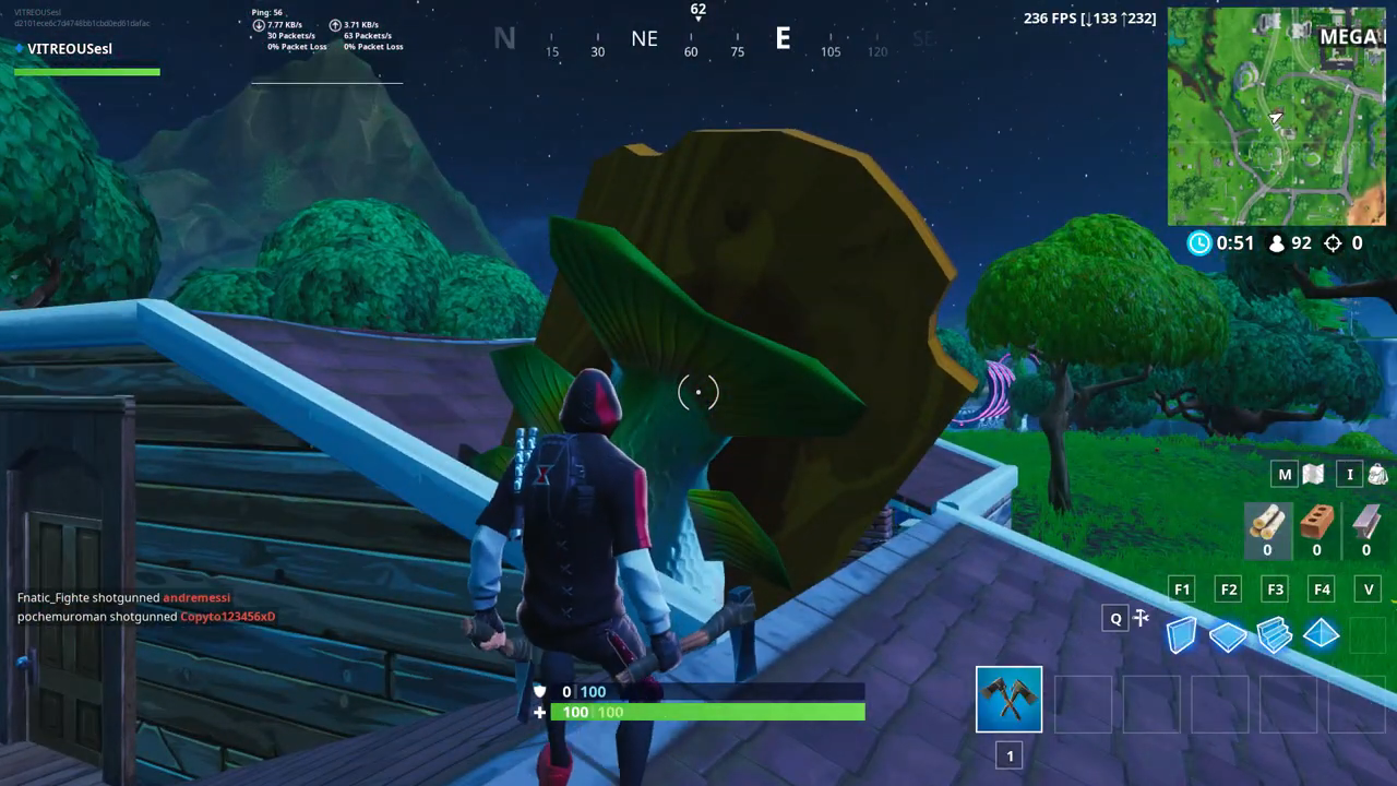 Fortnite giant dancing fish trrophy location