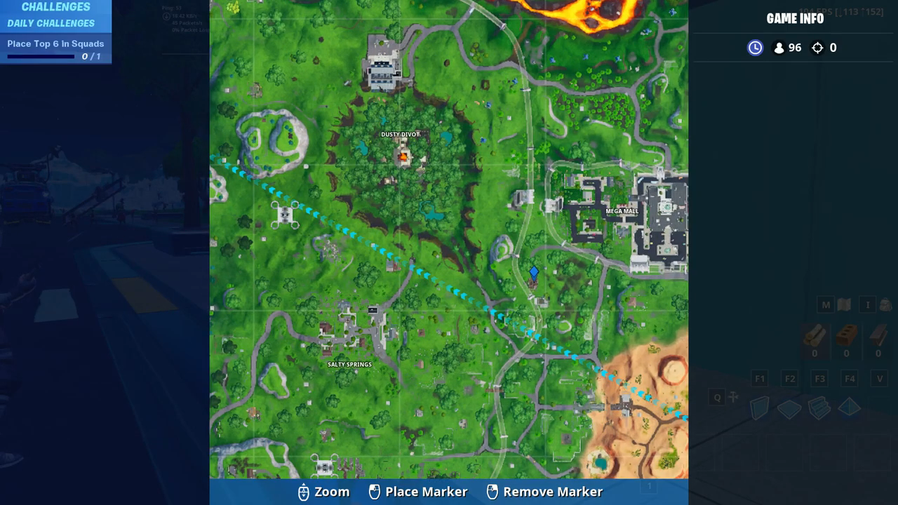 Fortnite giant dancing fish trrophy map