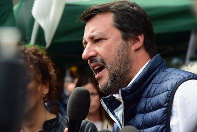 Matteo Salvini Italy Steve Bannon
