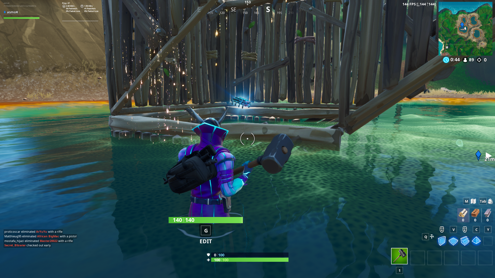 Fortbyte 17 wooden fish location guide fixed