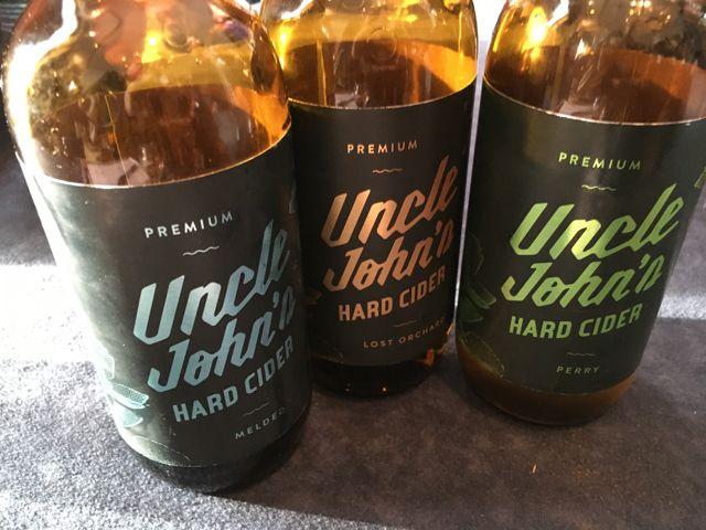 Uncle John's best cider