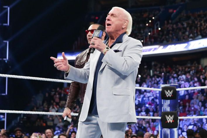 ric flair hospitalized update