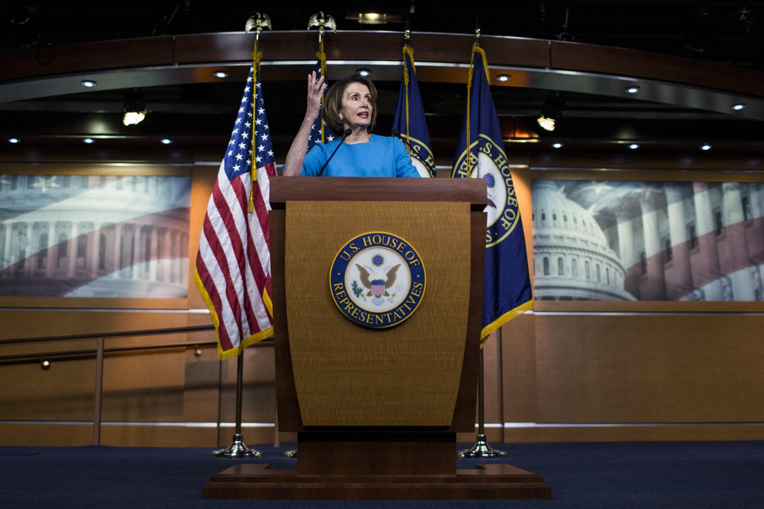 Nancy Pelosi Trump stonewalling beneath dignity of presidency