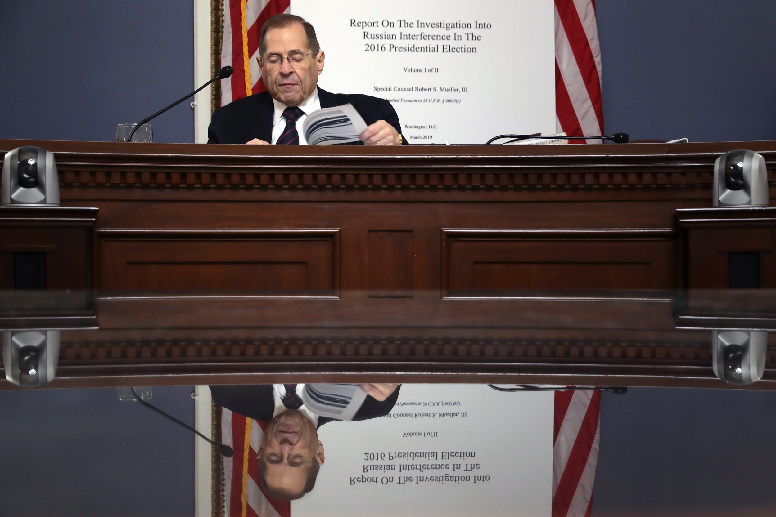 Jerry Nadler, Mueller report