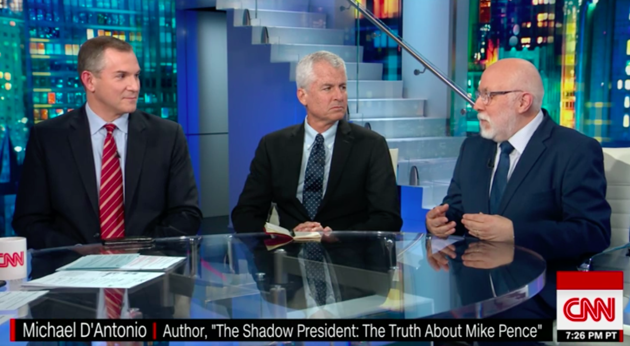 Trump Biographer: President Thinks He's 'Above The Law' Because he 'Believes in Genetic Superiority'