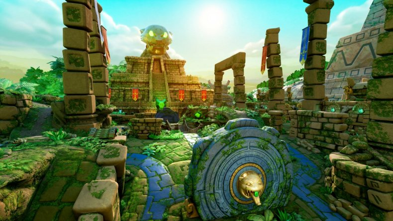 nexon rocket arena temple map