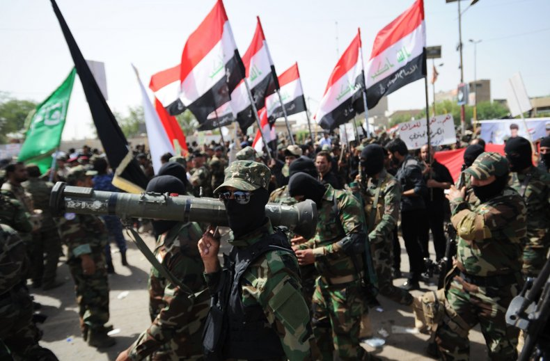 Mahdi Army Iraq militias US war Iran