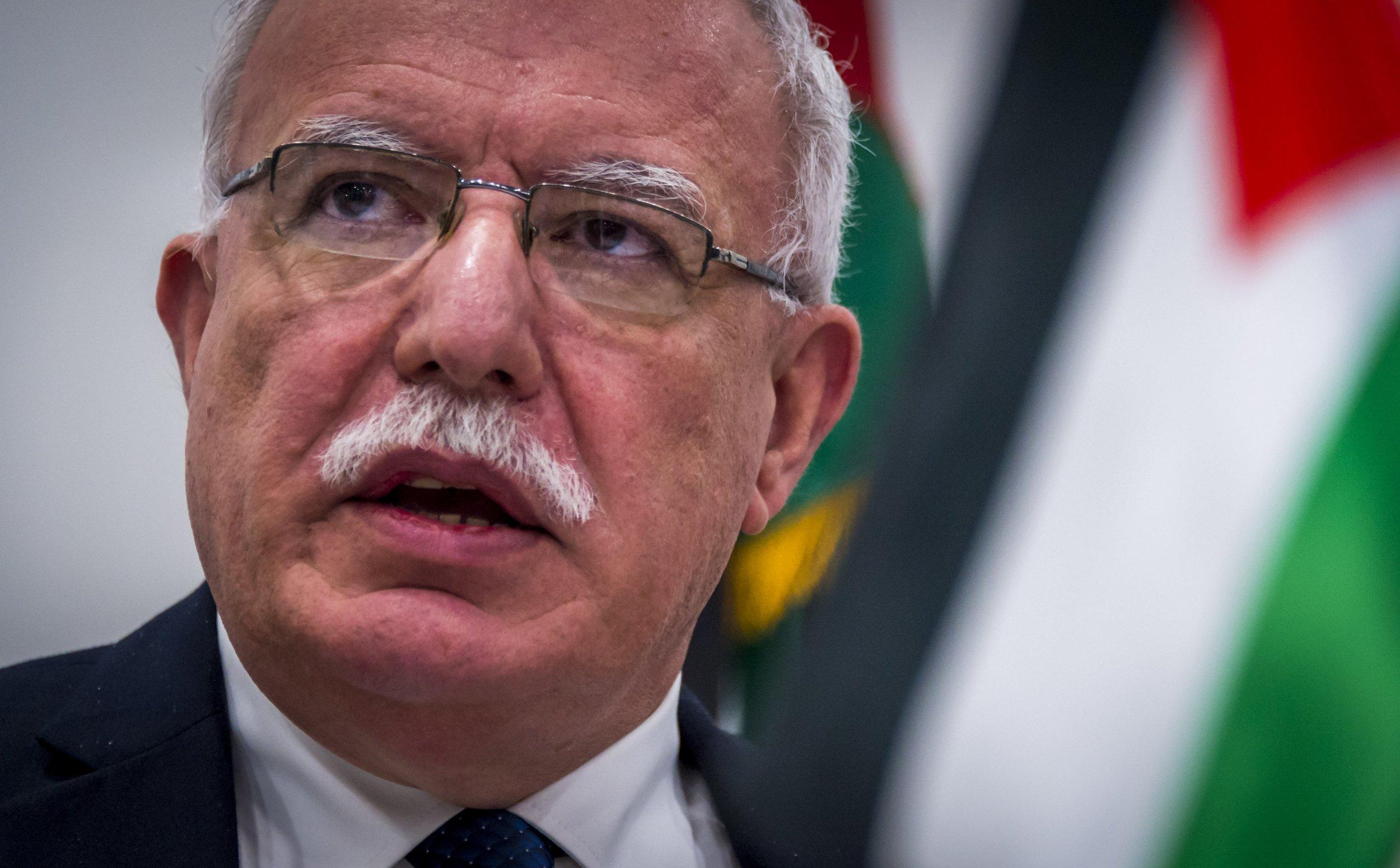 Palestine's al-Maliki: US peace plan a 'surrender act'