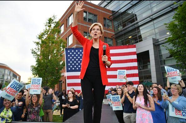elizabeth warren surging in 2020 polls