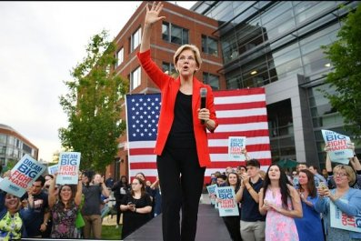 elizabeth warren surging in 2020 polls