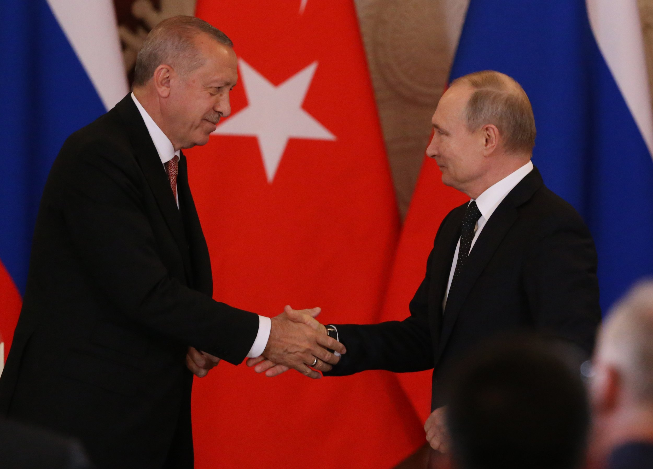 Erdogan Tells of Two Missile Defense Deals With Russia