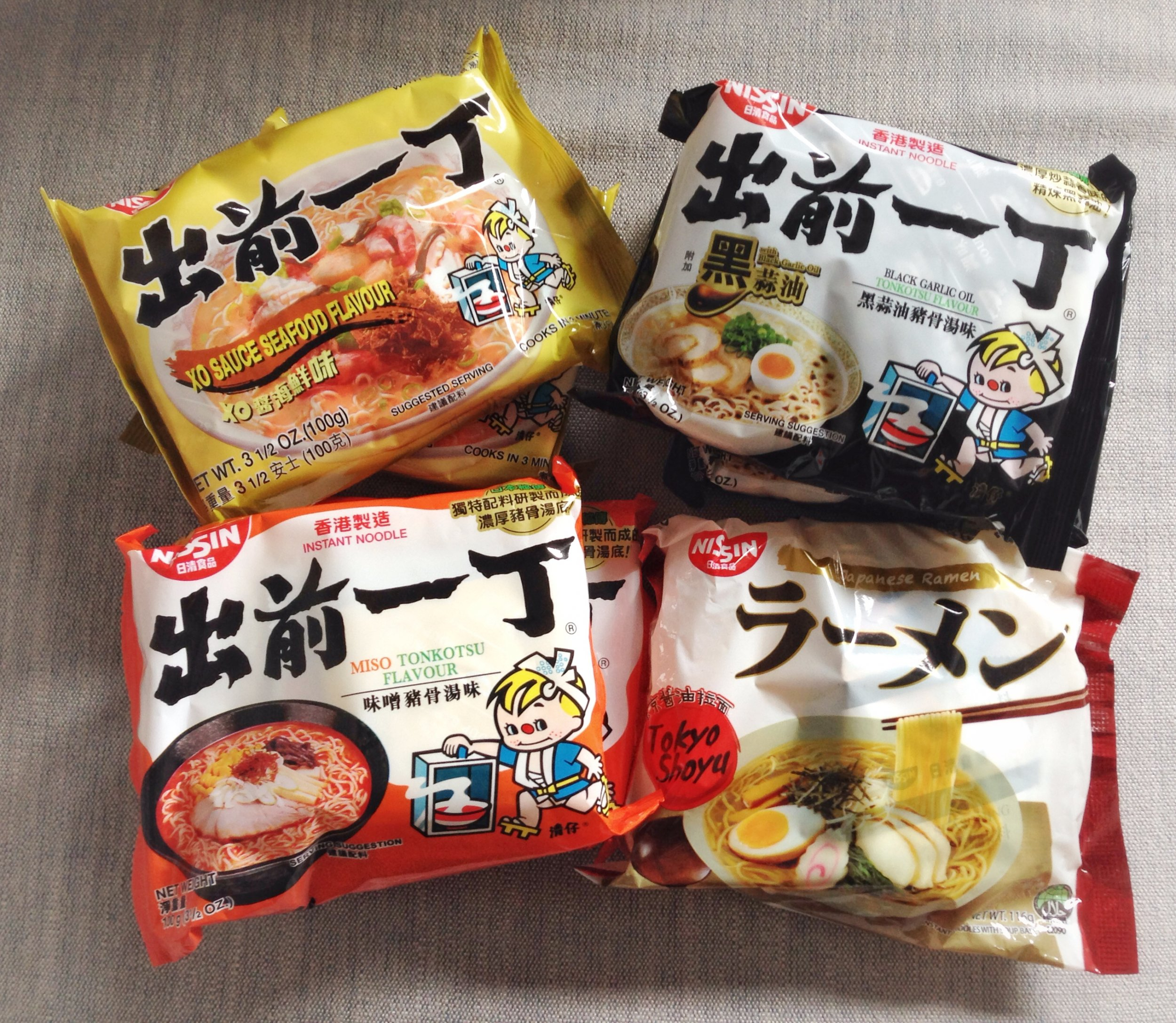 Ramen Four Packages