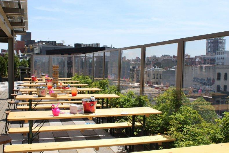 Clinton Hall Rooftop Beer Garden